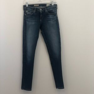 Ag Adriano Goldschmied Jeans - AG The Legging Ankle Low Rise 27R